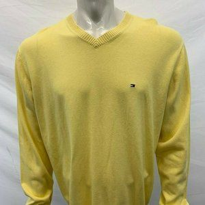Tommy Hilfiger Men's Size XL Yellow sweater